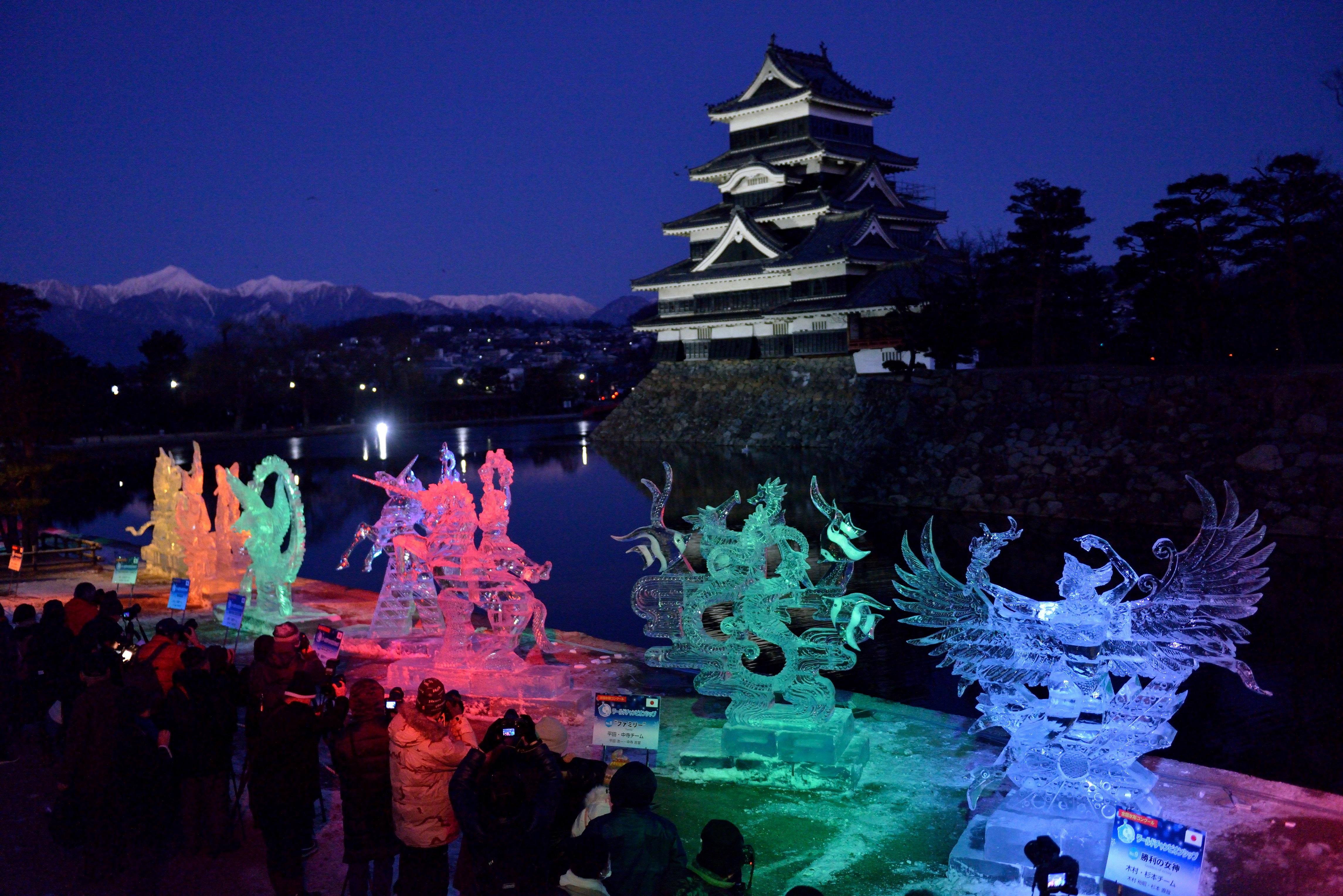 国宝松本城氷彫フェスティバル2021の中止について